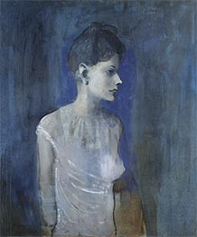 Girl in a Chemise (Madeleine), c.1904/05 by Picasso   Painting Reproduction