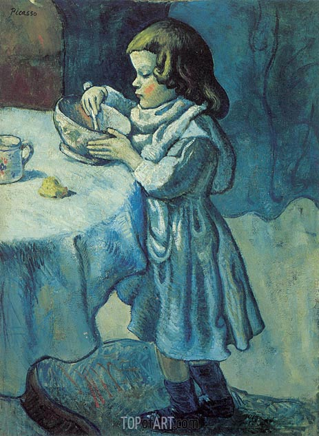 Picasso | Le Gourmet, 1901