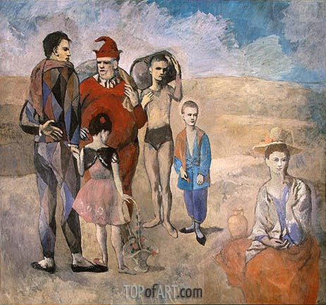 Picasso | Family of Saltimbanques, 1905