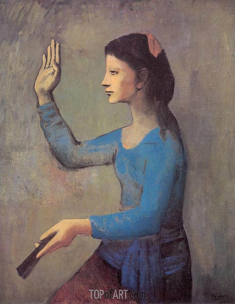 Picasso | Lady with a Fan, 1905