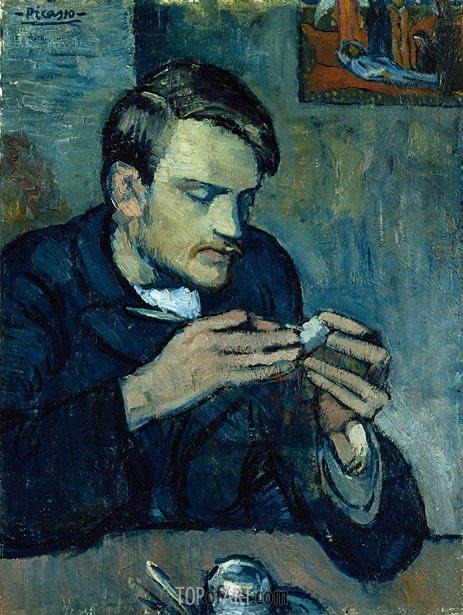 Picasso | Portrait of Mateu Fernandez de Soto, 1901