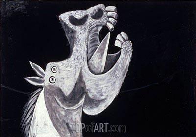 Picasso | Horse's Head (Cabeza de caballo), 1937