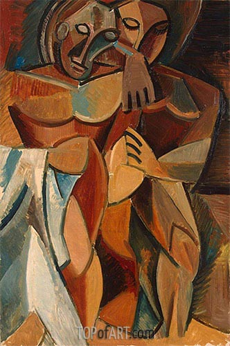 Friendship, 1908 | Picasso | Painting Reproduction