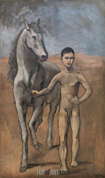 Junge mit Pferd, c.1905/06 | Picasso | Gemälde Reproduktion