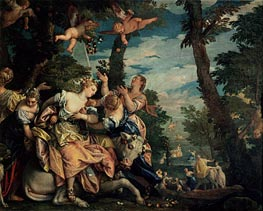 The Rape of Europa, c.1576/80 by Veronese | Painting Reproduction