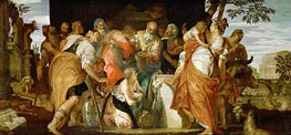 Ointment of David, c.1555/60 by Veronese | Painting Reproduction