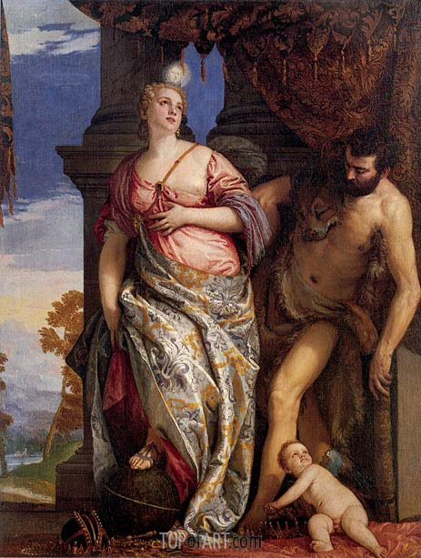 Veronese | Allegory of Wisdom and Strength, c.1580