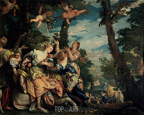 Veronese | The Rape of Europa, c.1576/80