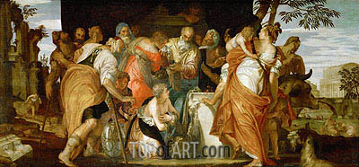 Ointment of David, c.1555/60 | Veronese| Painting Reproduction