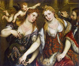 Venus, Flora, Mars and Cupid (Allegory) | Paris Bordone | outdated