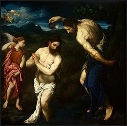 The Baptism of Christ | Paris Bordone | outdated