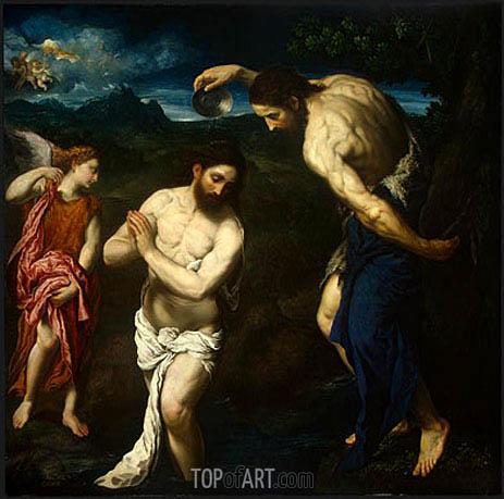 Paris Bordone | The Baptism of Christ, c.1535/40