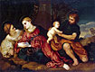 Holy Family with St Catherine | Paris Bordone