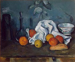 Fruit, c.1879 by Cezanne | Painting Reproduction