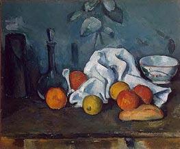 Fruit, c.1879 von Cezanne | Gemälde-Reproduktion