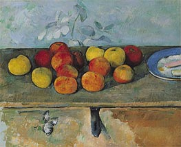 Apples and Biscuits | Cezanne | Painting Reproduction