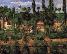 The Chateau at Medan | Cezanne | Painting Reproduction