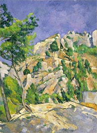 Bottom of the Ravine | Cezanne | Painting Reproduction