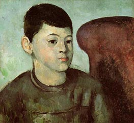 Portrait of Paul Cezanne, the Artist's Son, c.1883/85 by Cezanne | Painting Reproduction