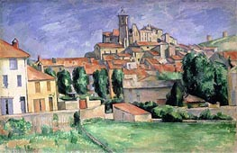Gardanne, c.1885/86 by Cezanne | Painting Reproduction