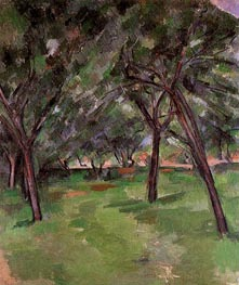 Orchard | Cezanne | Painting Reproduction