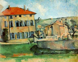 The Jas de Bouffan | Cezanne | Painting Reproduction