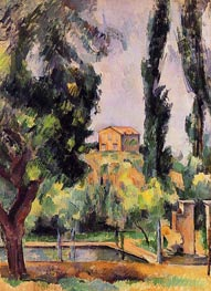 The Jas de Bouffan, c.1890/94 by Cezanne | Painting Reproduction