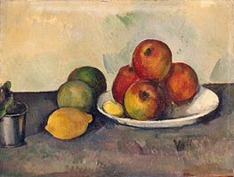 Still Life with Apples, c.1890 by Cezanne | Painting Reproduction