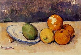 Still Life, c.1890 by Cezanne | Painting Reproduction