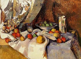 Still Life with Apples, c.1895/98 by Cezanne | Painting Reproduction