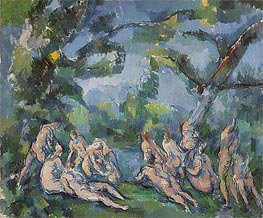The Bathers, c.1899/04 by Cezanne | Painting Reproduction