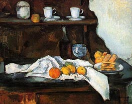 The Buffet, c.1873/77 by Cezanne | Painting Reproduction