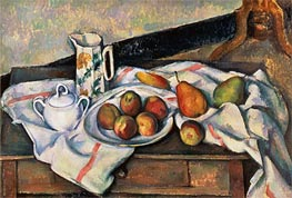 Peaches and Pears, c.1888/90 by Cezanne | Painting Reproduction