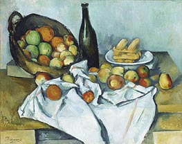 The Basket of Apples, c.1893 by Cezanne | Painting Reproduction