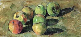 Still Life with Apples, 1878 by Cezanne | Painting Reproduction