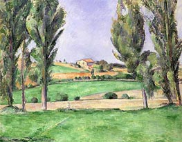 Provencal Landscape, c.1885/87 by Cezanne | Painting Reproduction