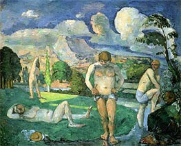 Bathers at Rest, c.1875/76 by Cezanne | Painting Reproduction