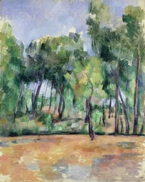 Provencal Landscape, undated by Cezanne | Painting Reproduction