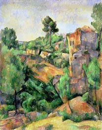 Bibemus Quarry (Carriere de Bibemus), 1898 by Cezanne | Painting Reproduction