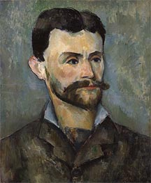 Jules Peyron, c.1885/87 by Cezanne | Painting Reproduction
