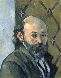 Self-Portrait, c.1880/81 by Cezanne | Painting Reproduction