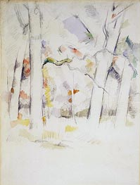Spring Woods | Cezanne | Painting Reproduction