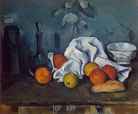 Fruit, c.1879 | Cezanne | Painting Reproduction