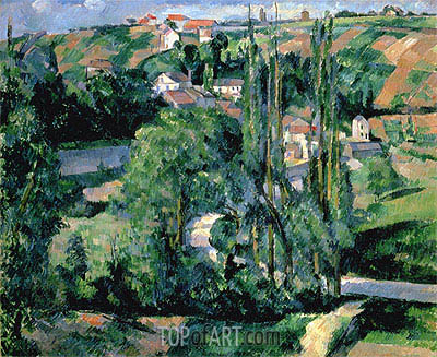 Cezanne | Jalais Hill, Pontoise, c.1879/80