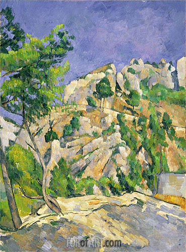 Bottom of the Ravine, c.1879 | Cezanne| Painting Reproduction