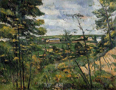 Cezanne | The Oise Valley, c.1880