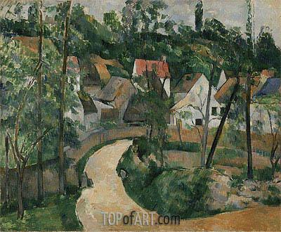 Cezanne | Turn in the Road, c.1881