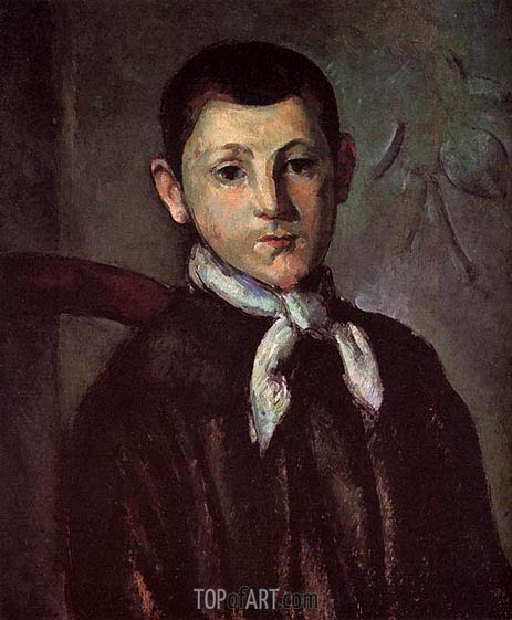 Portrait of Louis Guillaume, c.1882 | Cezanne| Painting Reproduction