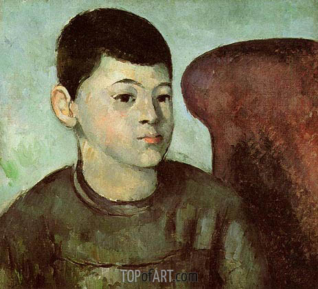 Cezanne | Portrait of Paul Cezanne, the Artist's Son, c.1883/85