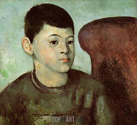 Cezanne | Portrait of Paul Cezanne, the Artist's Son, c.1883/85